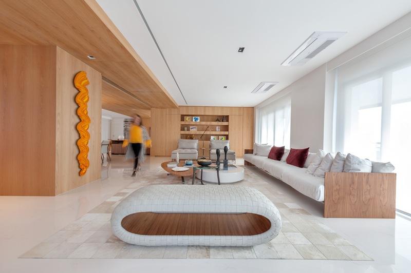 TOPVIEW   VIEWS OF ADD: PORQUE MENOS É MAIS! Projeto minimalista traz praticidade e atemporalidade ao lar